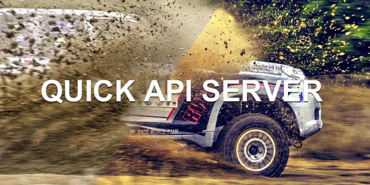 Quick API server for testing