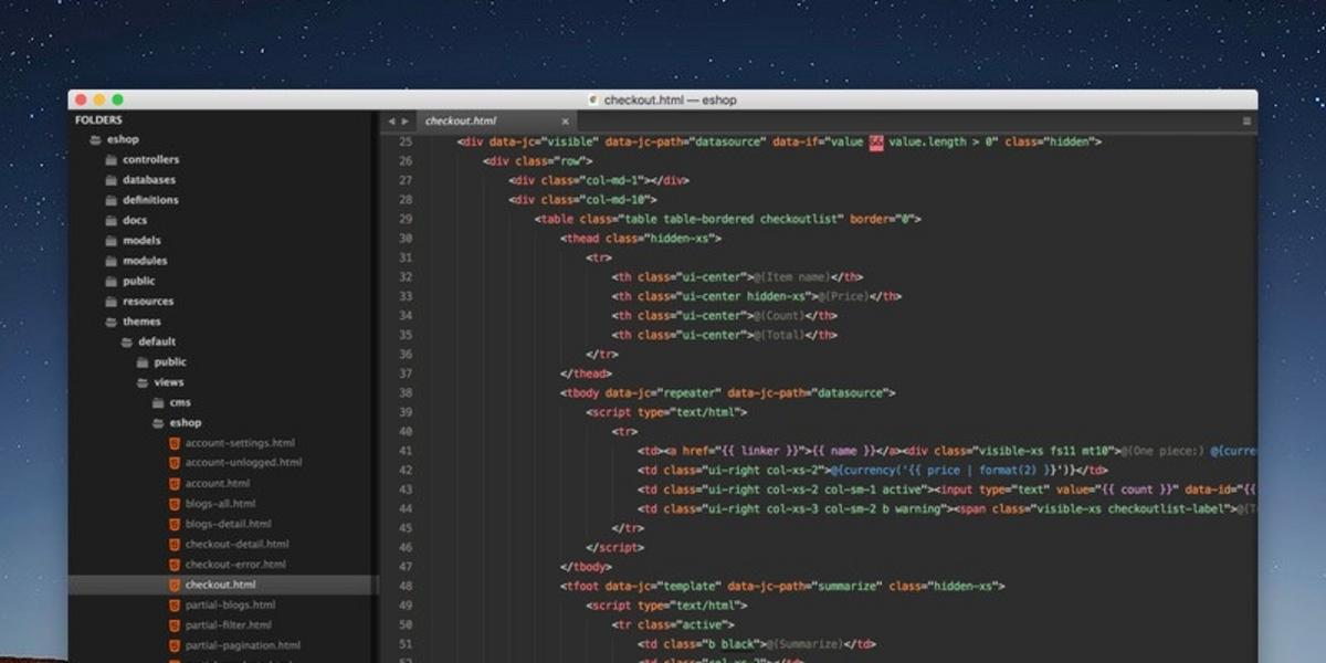 Set up your Sublime Text editor for Total.js