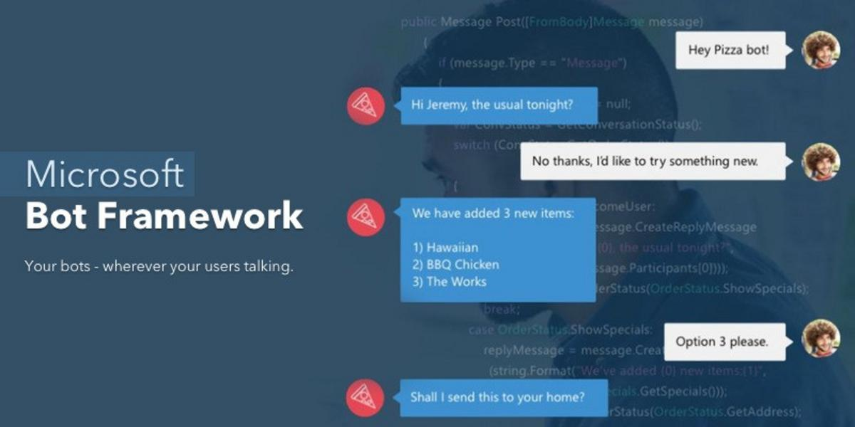 How to use Microsoft Bot Framework with Total.js?