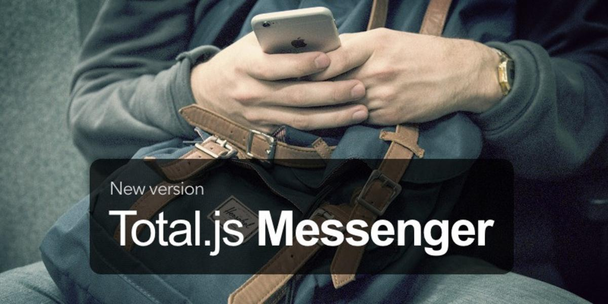 Total.js Messenger v2