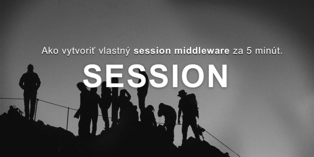 Vytvorenie session middleware v Total.js za 5 minút