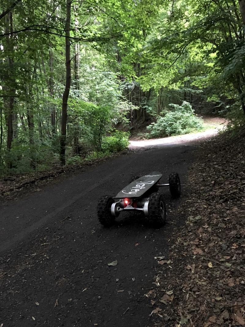 Uhlisko - cesta do Šalkovej