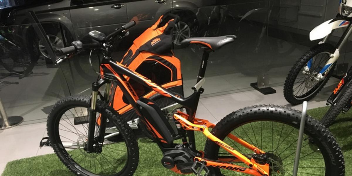 Elektrický bicykel KTM MACINA KAPOHO SLX 2017