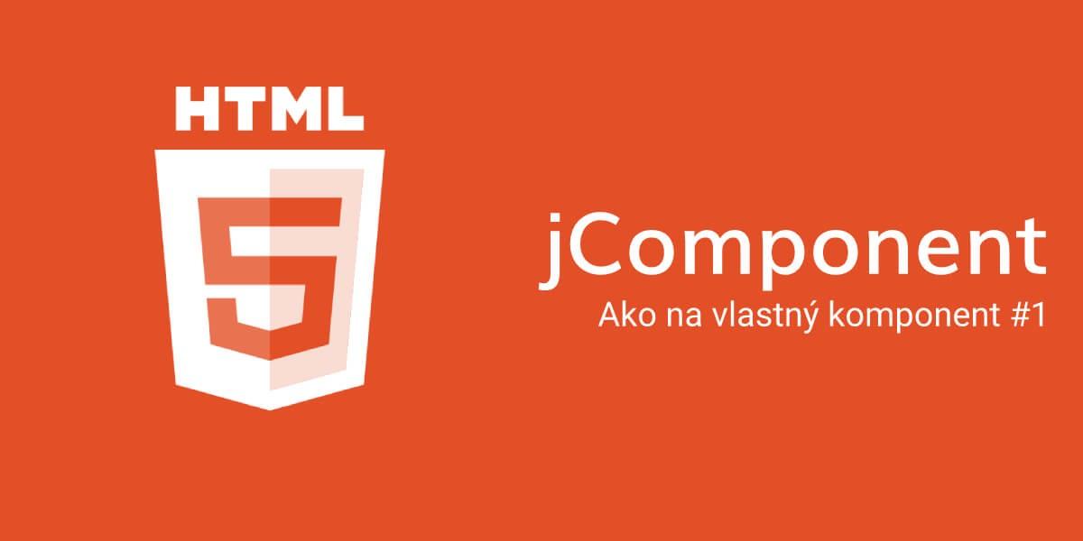 jComponent - Ako na vlastný komponent #1