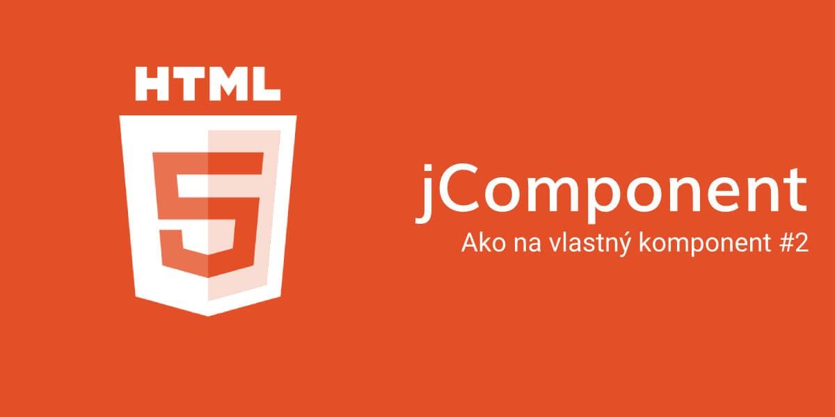 jComponent - Ako na vlastný komponent #2