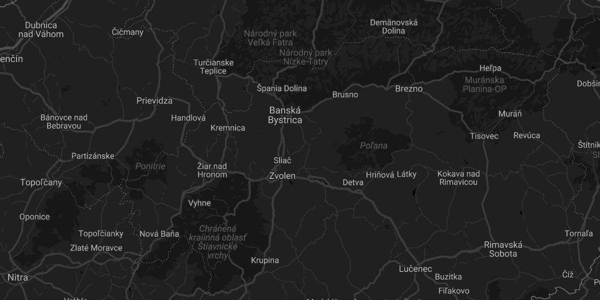 Dark Mode For Google Static Maps Bufferwall