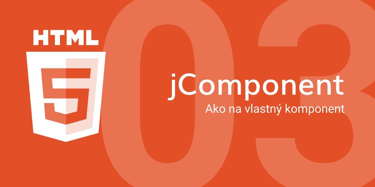 jComponent - Ako na vlastný komponent #3