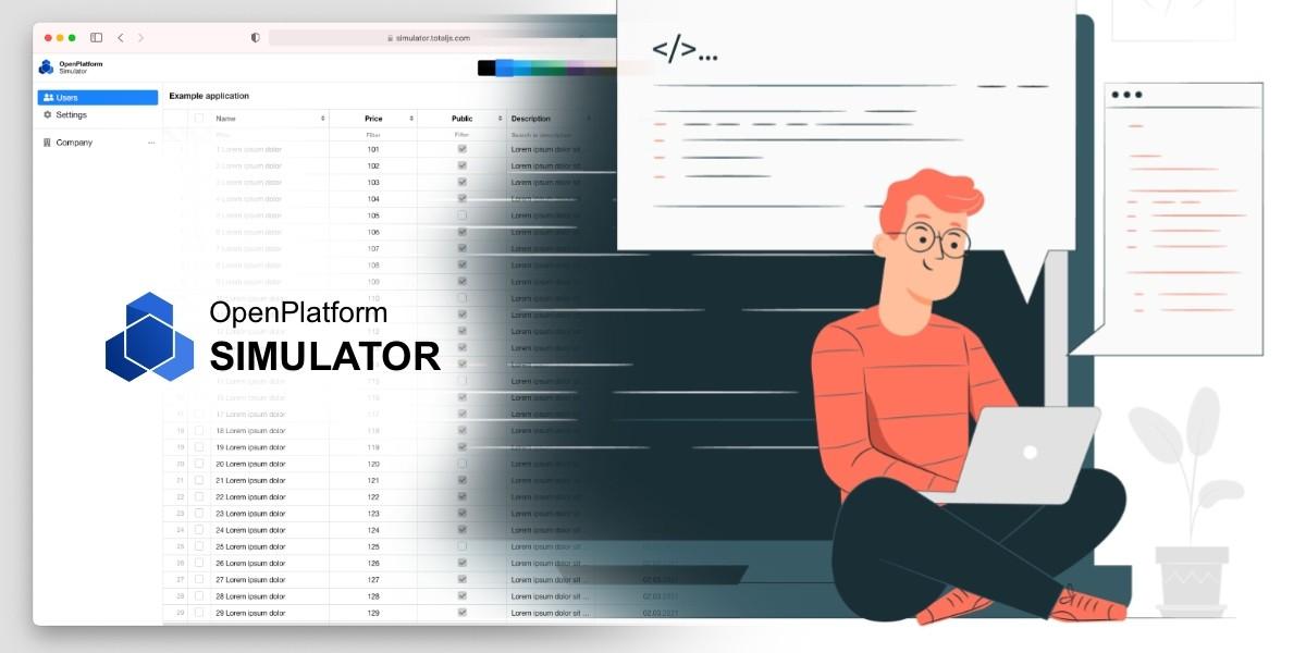 OpenPlatform simulator