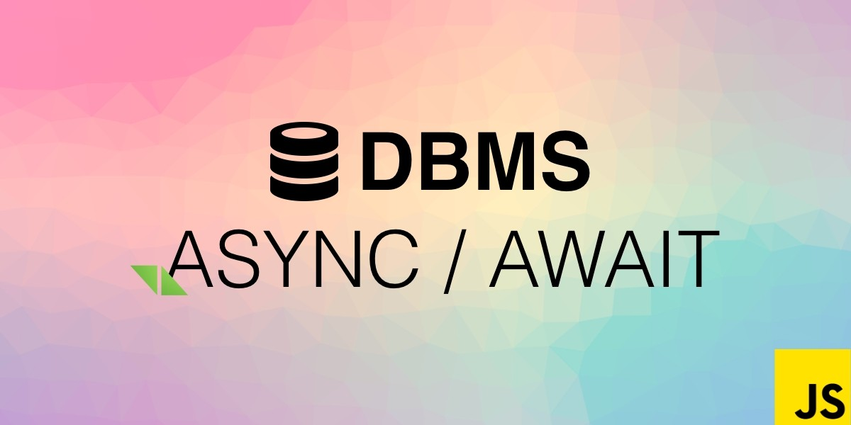 Async / Await with DBMS module in Total.js