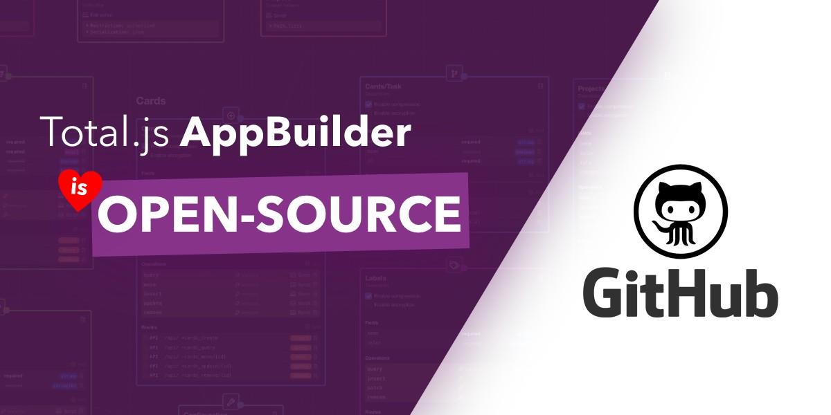 Total.js AppBuilder is now open-source